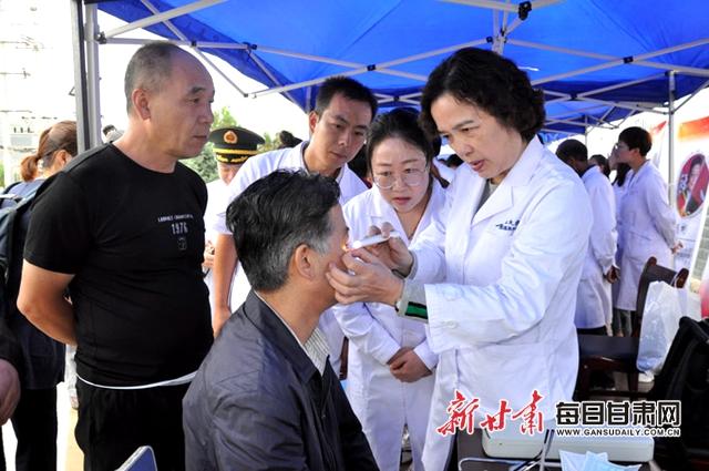 """国家卫生健康委名医走基层""""中国好医生、中国好护士""""走进会宁"""