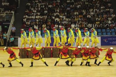 全国民运会 甘肃四个表演项目全部获奖