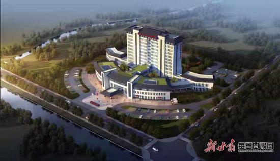 <strong>天水市张家川县中医院迁建工程项</strong>