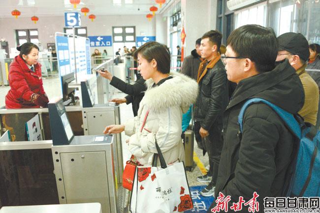 兰铁局集团公司8天售出春运火车