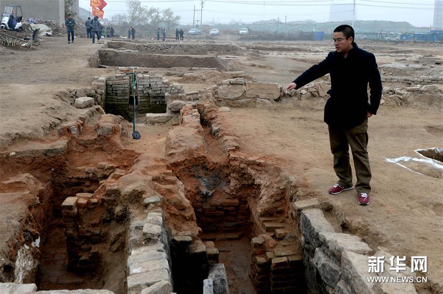(文化)(2)安徽发现大面积酿酒作坊遗址
