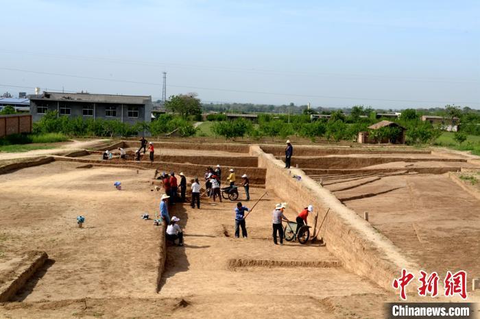 秦始皇陵陵西发现大型墓葬出土珍贵单体金骆驼(图)