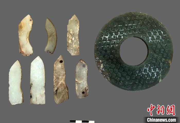 图为出土的文物。秦始皇帝陵博物院供图