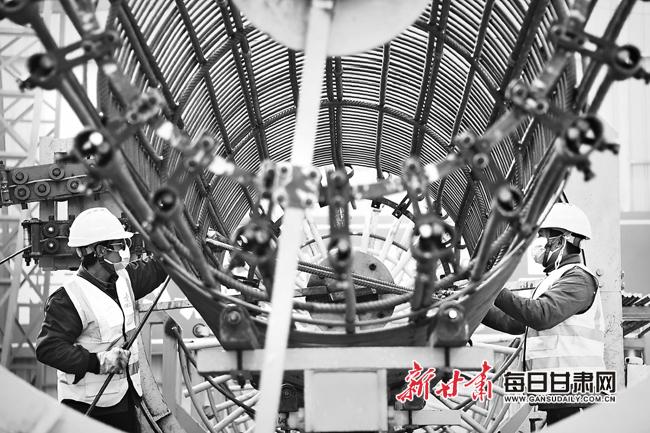 【图片新闻】中川国际机场T3航站楼连接线项目已全面复工