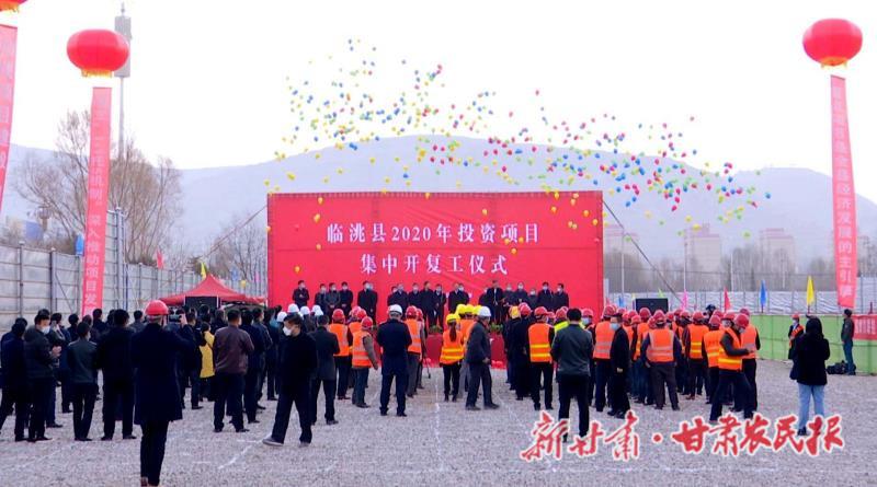 临洮县按下项目