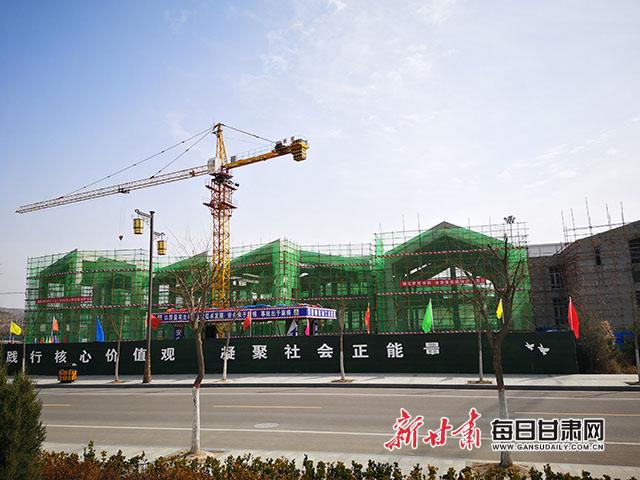 泾川县博物馆建设项目顺利复工.jpg