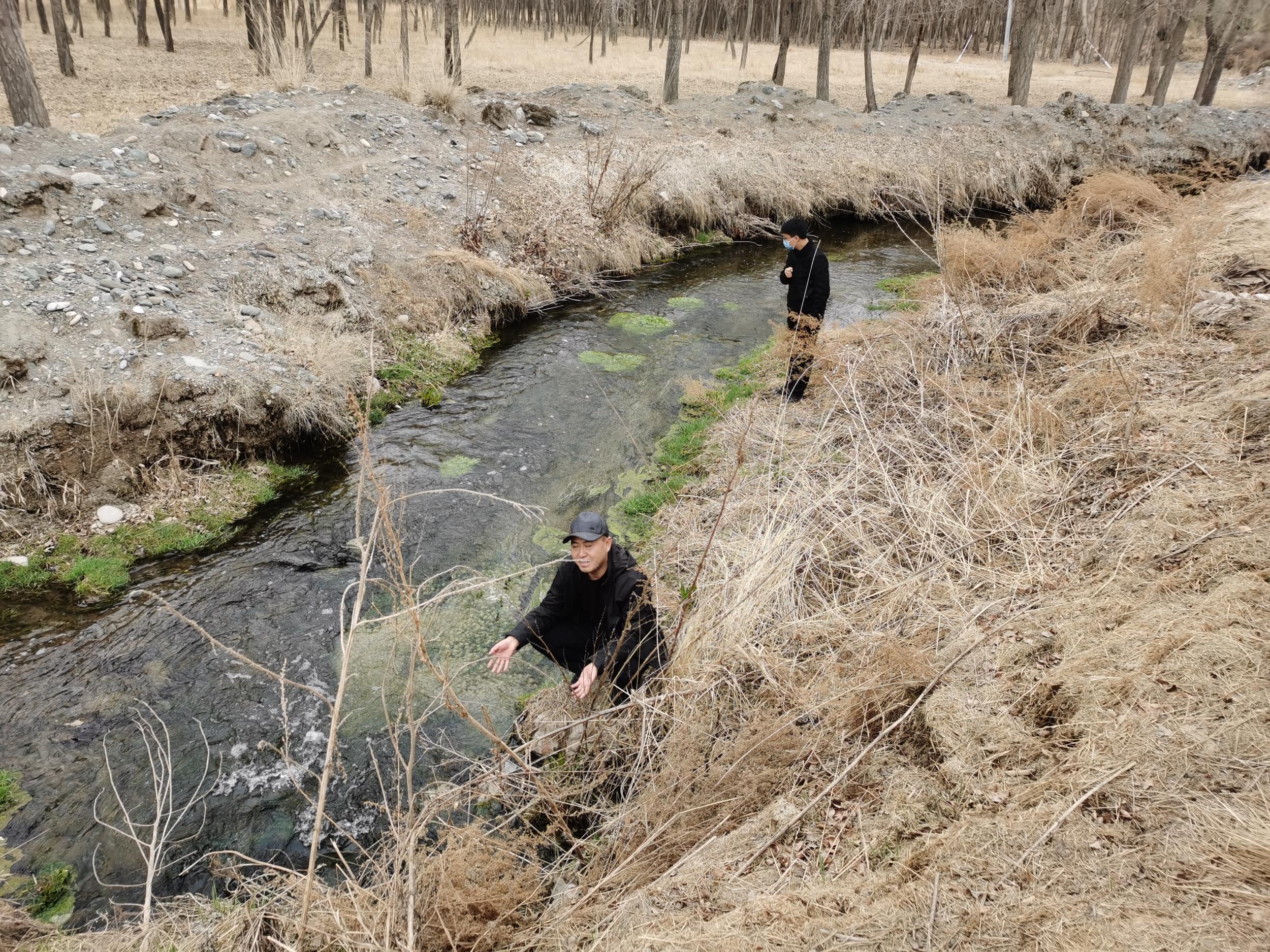甘肃黄河流域入河排污口现场排查