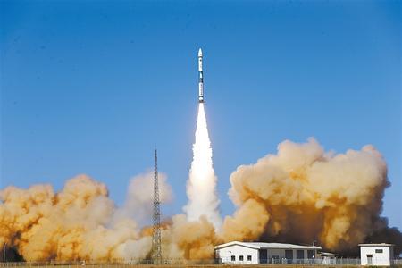 """快舟火箭、行云卫星首次""""合体"""" 计划建成由80颗卫星组成的天基物联网星座"""