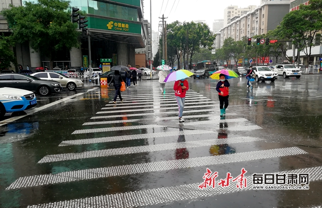 甘肃722个乡镇迎明显降水 雨强中