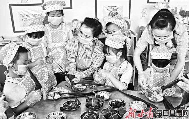 【图片新闻】庆城县中街幼儿园开