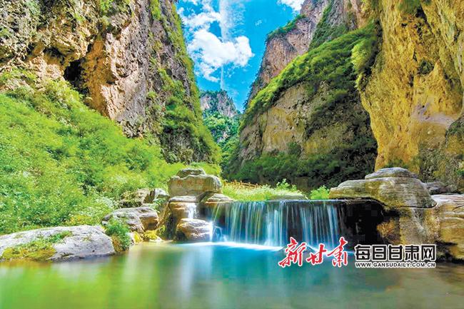 漳县遮阳山, 相约深峡做画中那些