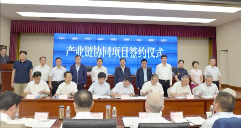 甘肃省21个重点混改合作和产业链