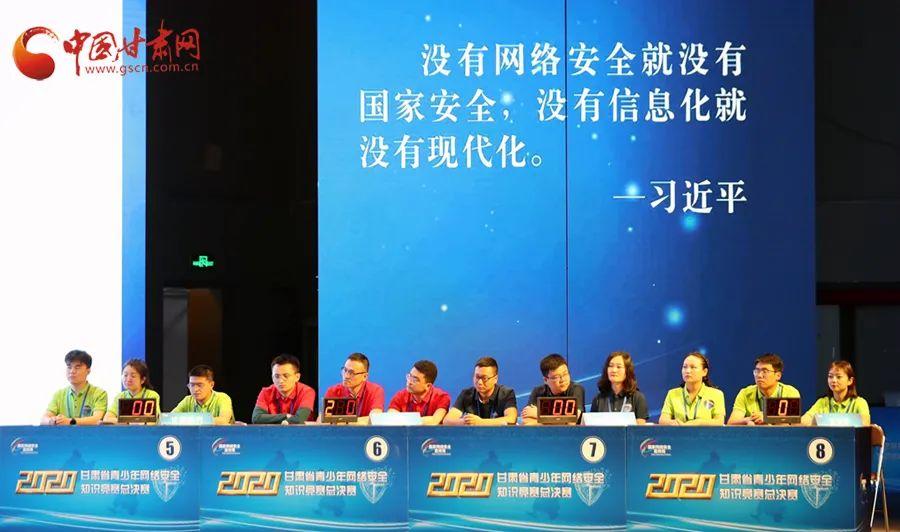 张掖代表队斩获2020年甘肃省青少年网络安全知识竞赛总决赛冠军
