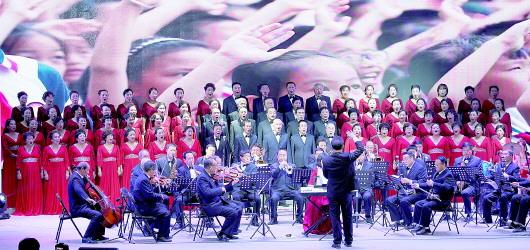 【图片新闻】平凉市首届青少年公益才艺大赛在崆峒剧院举行
