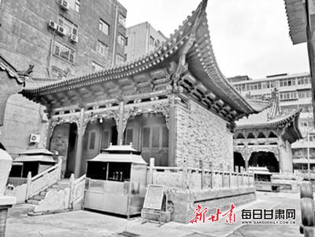 【历史眼】兰州文殊院 藏在闹市的古庙