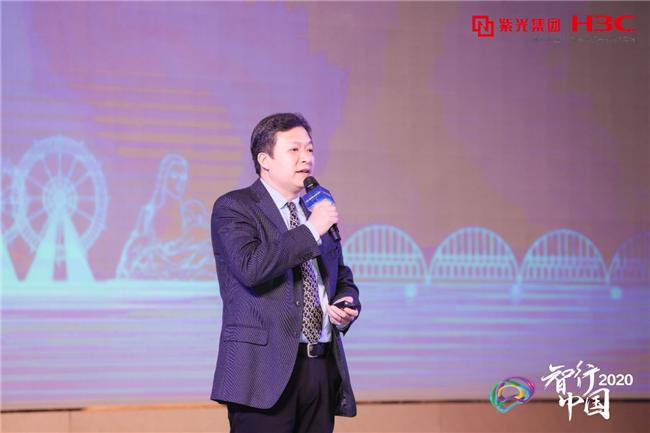 新华三集团云与智能产品部总工程师唐家鹤发表演讲.png