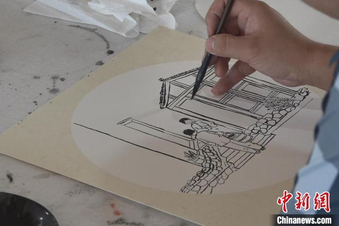 青年民俗漫画家扎根乡村:用漫画绘出乡土文化