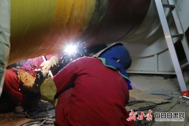 甘肃输油气分公司有序推进西气东输增输改造工程实施